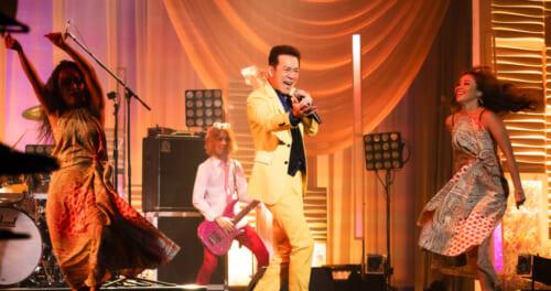 「哀愁でいと」から40年。田原俊彦、初の生配信ライブ! 昭和デビューのアイドルが魅せた!