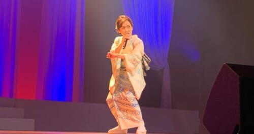 永井裕子、故郷の佐賀で20周年を記念した凱旋コンサートを開催