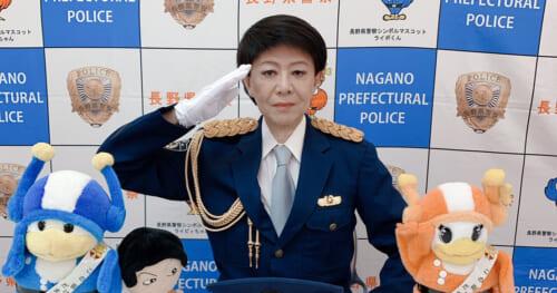美川憲一が「信州安全安心サポーター77・SAS77」を拝命。特殊詐欺防止を訴える