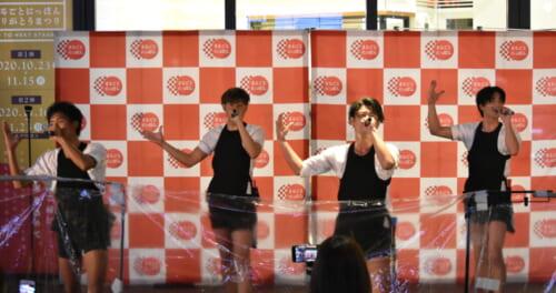 東京力車、ホームグラウンドの浅草で新曲「天下御免の伊達男/絆~仲間へ~」発売記念イベント開催