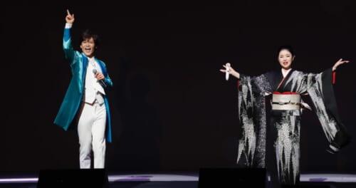 新浜レオンが由緒ある新歌舞伎座のステージで憧れの藤あや子と待望の共演!