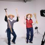 市川由紀乃と福田こうへいが農家に扮して「麦畑」。MVをYouTubeで公開