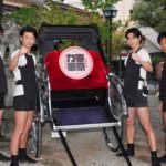 東京力車が新曲「天下御免の伊達男/絆~仲間へ~」の必勝祈願! 「僕たちのすべてが詰まった楽曲です」