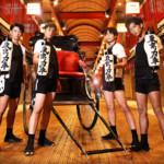 東京力車、歓喜! オリコン週間シングル演歌・歌謡ランキング1位獲得!!