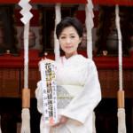 長山洋子が新曲「あの頃も 今も~花の24年組~」のヒット祈願。団塊世代にエールを!