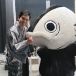 三山ひろしが大阪・新歌舞伎座で特別公演「みやまつり2021」。ふるさと高知からカツオ人間も応援に!!