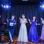 クラウンミュージックフェスで、川野夏美、瀬口侑希、津吹みゆ、一条貫太、島あきのがファンと気持ちをひとつに