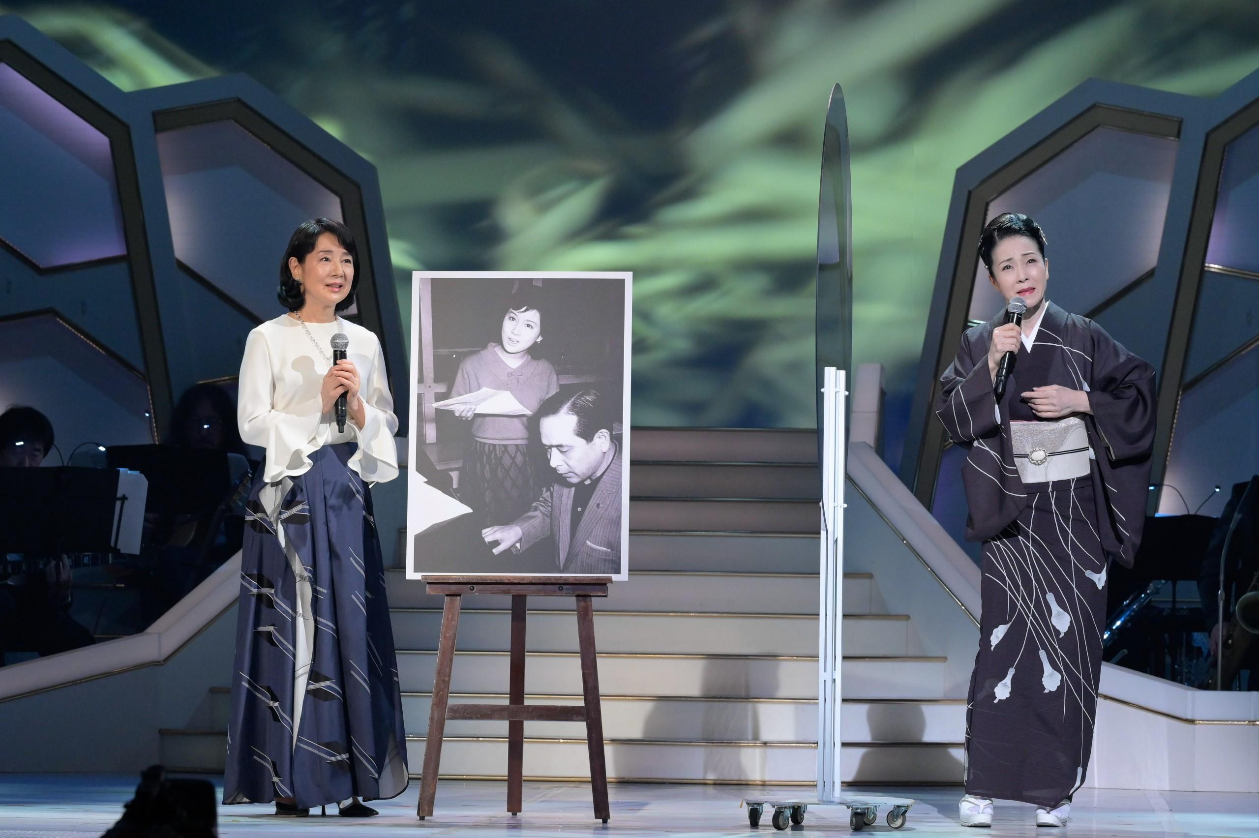 吉永小百合と坂本冬美