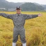 """三山ひろしがひろしの田んぼで""""三山米""""を収穫! 目指せ特A米へ。"""