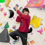 辰巳ゆうとがボルダリングに挑戦。「壁を乗り越えることができて気持ちいい!」